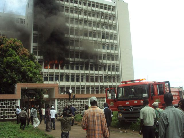 Youyi building fire- oct 2011