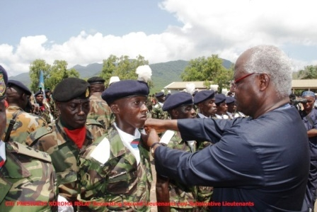 preseident koroma decorating new soldiers1