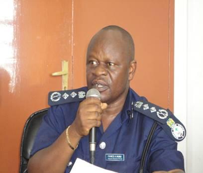 Police Inspector General – Munu