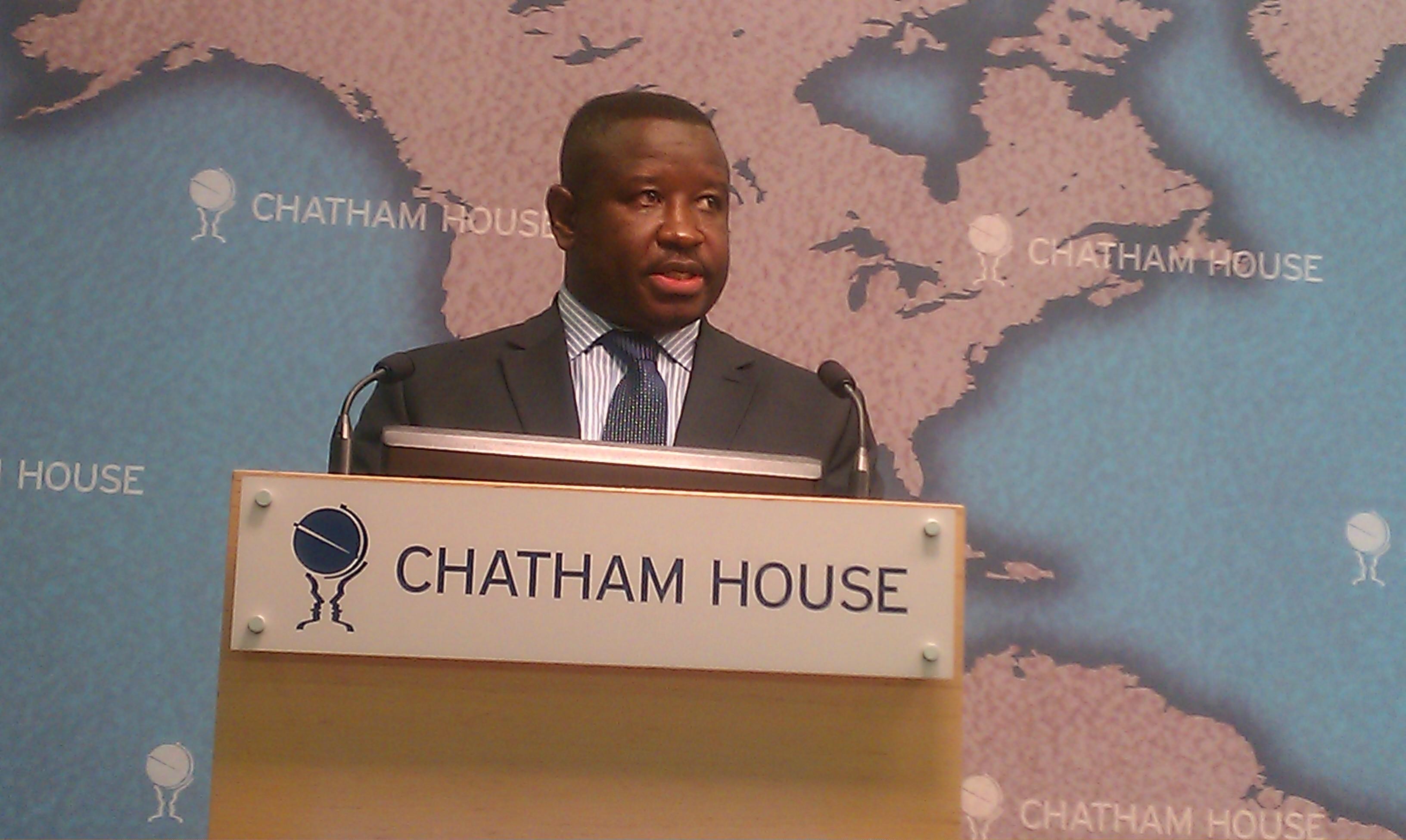 Bio at Chatham House