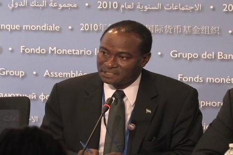 Foreign minister - Samura Kamara