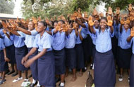 school children - Sierra Leone CAR