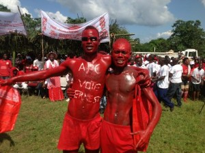 APC SUPPORTERS IN PUJEHUN - VOTE 2012