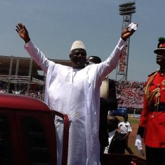 President Koroma inauguration 2013