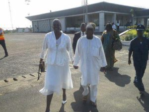 Obasanjo and Awareness Times publisher
