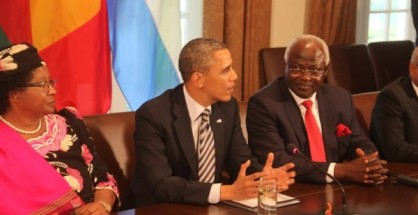 obama meets president koroma and other african leaders - 28 03 13