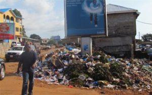 Freetown rubbish -Aberdeen-Road