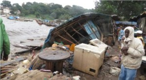 poverty in salone slums