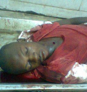 schoolboy shot dead by Sierra Leone police