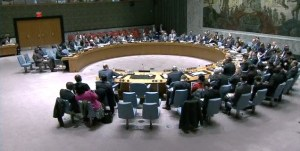 Security Council Session on Central Africa Republic1