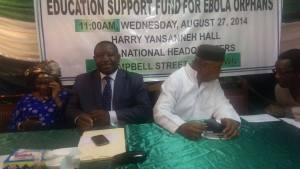 Bio launch Ebola fund3