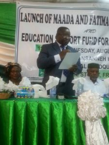 Bio launch Ebola fund4