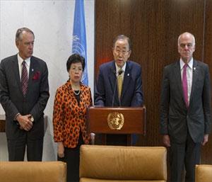 Ebola - Ban Ki Moon appeal
