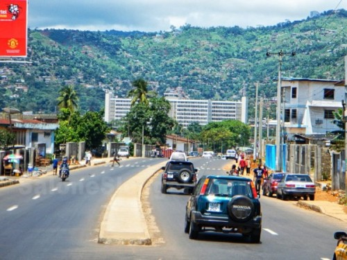 salone industry - Freetown-roads-