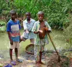 salone industry - child mining