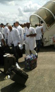 Cuban doctors arrive in Freetown
