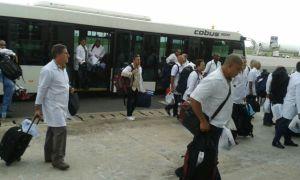 Cuban doctors arrive in Freetown2