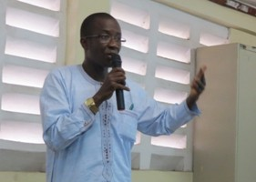 Dr Abu Bakarr Fofanah - Minister of Health and-Sanitation