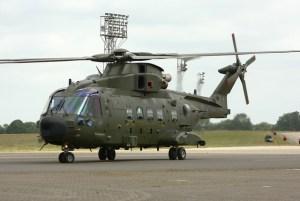 Merlin HC.3A ZJ998 / AE at RAF Benson