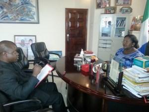 Sia Koroma with John Baimba Sesay