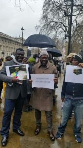 London protest1