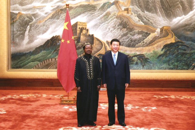 Victor Foh and President Xi Jinping of China