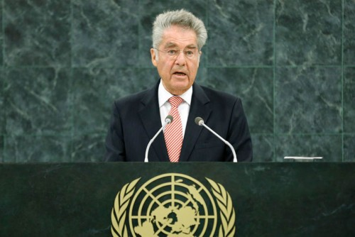 Fisher of Austria at the UN