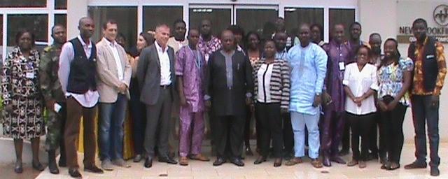 Ebola vaccine team
