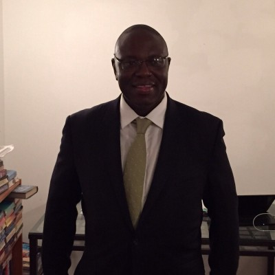 Ansu momoh - SLPP UK Secretary General 2015
