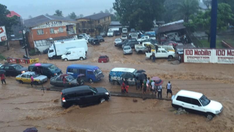 Freetown floods 20151