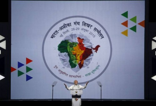 India prime minister modi at Africa summit