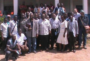 Ministry of health officials - 041115