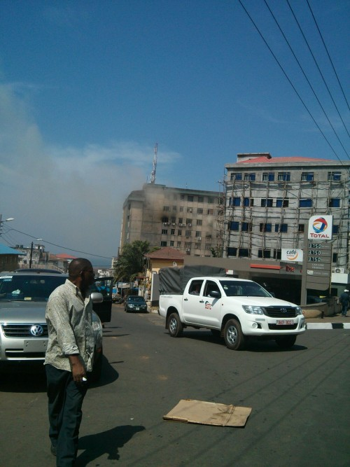 fire at electricity house2
