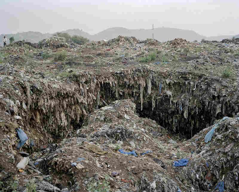 Bumeh waste dumping site