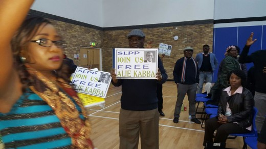 Free Alie kabba London1