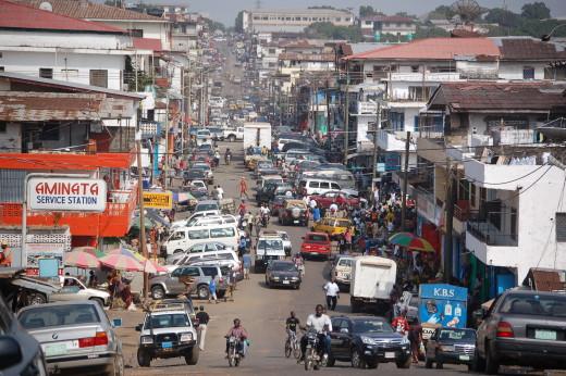 Liberia - DowntownMonrovia