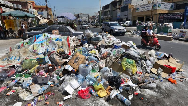 Waste dumping in lebanon2