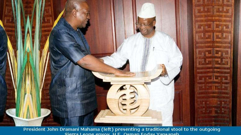 Yassaneh and Ghana president Mahama
