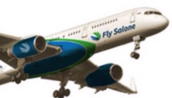 Fly salone airplane