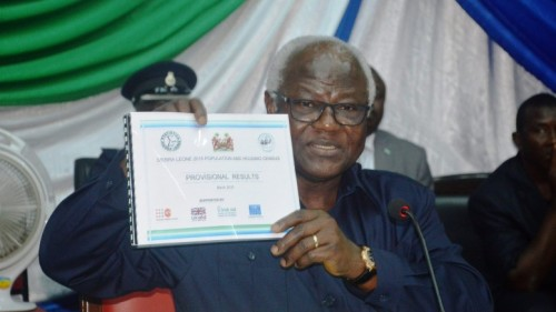 President Koroma launches 2015 census report