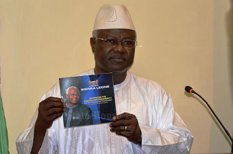 President Koroma promotes his Agenda for poverty