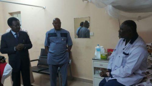 Joseph Kamara recovering well in hospital