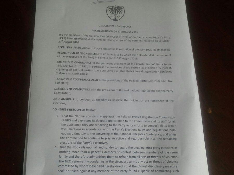 SLPP Resolution – Aug 2016 1