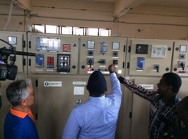 electricity supply in Freetown