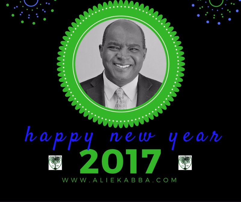 Alie Kabba New Year Wishes