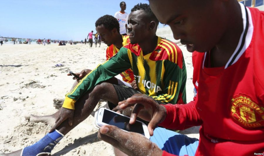 mobile phone use in Africa 1