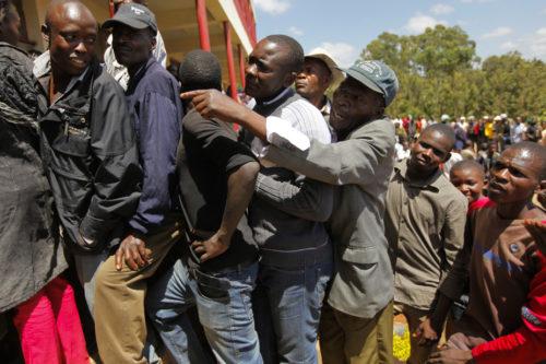 Election in Kenya
