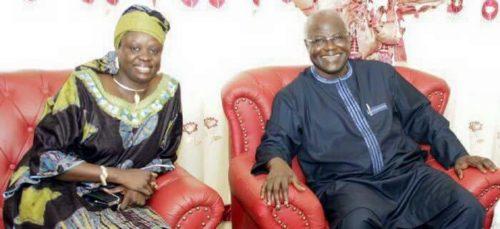 Dr Blyden and president koroma 1