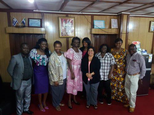 US embassy staff visits Dr Blyden 1