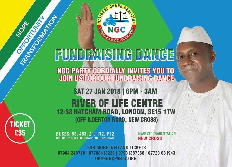 NGC London fundraiser